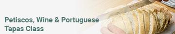 Petiscos, Wine & Portuguese Tapas Class